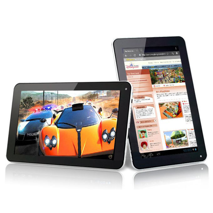 "9"" Inch Android 4.0.4 Dual Camera 8GB Tablet PC Netbook Computer White tablet 9 inch(China (Mainland))"