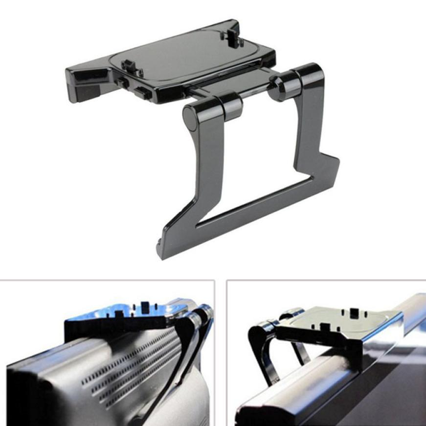 Factory Price New TV Clip Clamp Mount Mounting Stand Holder for Microsoft Xbox 360 Kinect Sensor 51102 P14<br><br>Aliexpress