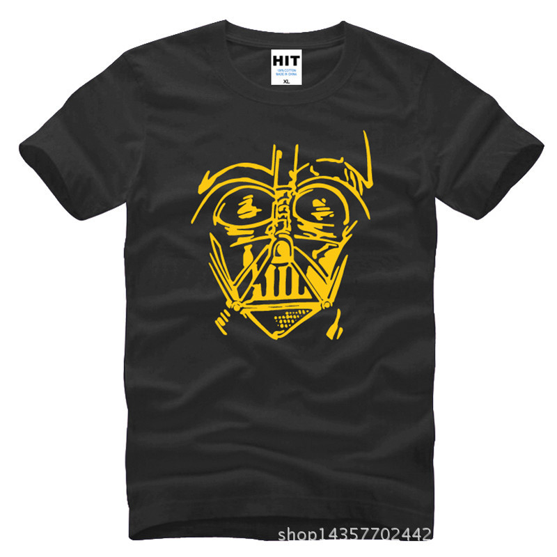 Star Wars movie Darth Vader Printed Mens Men T Shirt Tshirt Fashion 2015 New O Neck