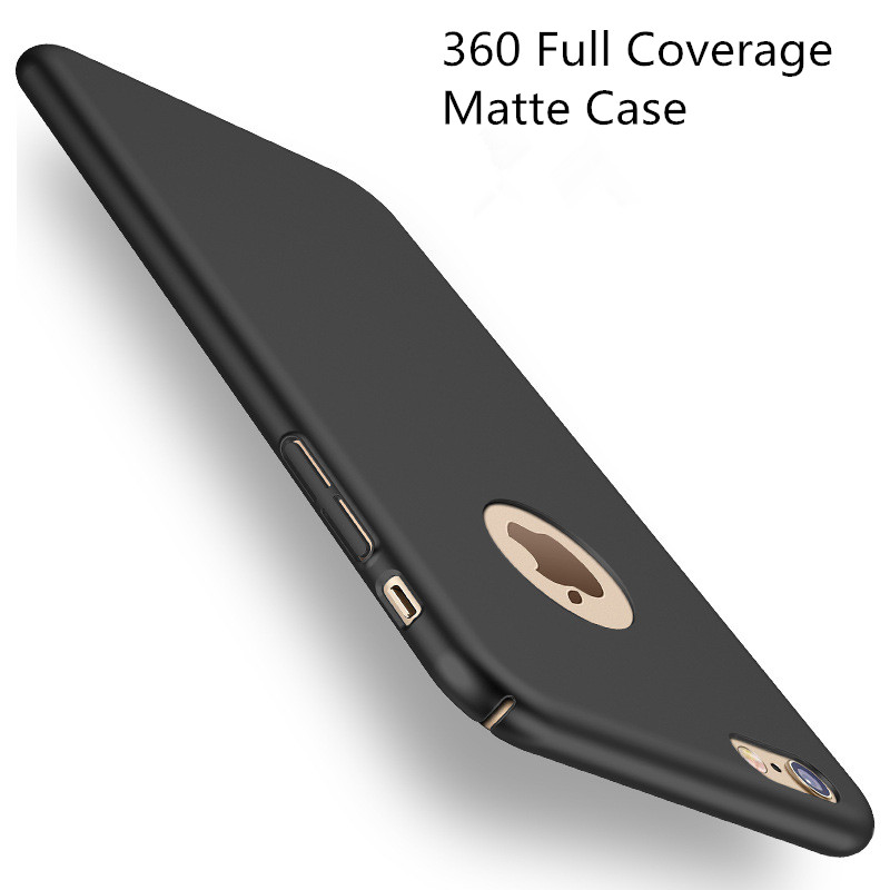 Fashion Hard Matte Case For iPhone 6 Cases 5s 5 SE 6s 6 For iPhone 7 Case Plus 360 Full Cover Plastic Phone Cover(China (Mainland))