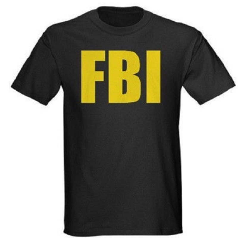 Online get cheap fbi tee shirts alibaba for Cheap college t shirts online