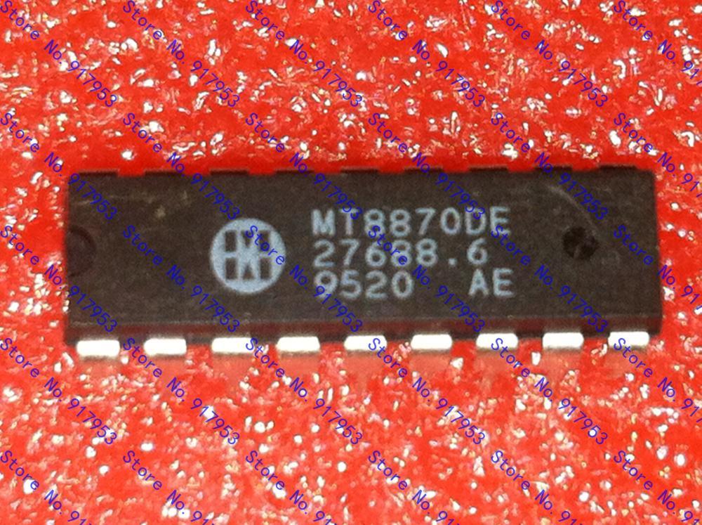 5PCS MT8870 MT8870DE DIP-18 Make in china(China (Mainland))