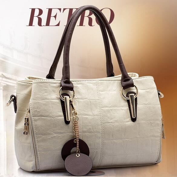 2015 Fashion women messenger bag Leather handbag Single shoulder bag women handbag women bag(China (Mainland))