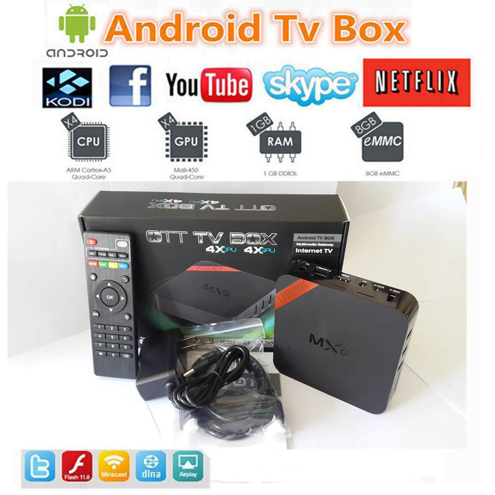 MXQ tv box,leelbox,android tv box,Kodi Pre installed Amlogic S805 Quad Core Android 4.4 better than cs918,Q7,M8,MX,Smart tv box(China (Mainland))