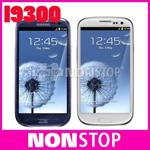 "Unlocked Original SIII Samsung Galaxy S3 i9300 3G GSM Android Quad-core mobile phone Galaxy 4.8"" 8MP WIFI GPS Refurbished(China (Mainland))"