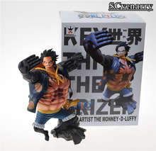 Buy One Piece Gear fourth Luffy King Artist MONKEY.D.LUFFY Anime PVC Action Figure Model Toy Christmas Gift 16cm for $14.25 in AliExpress store
