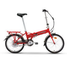 Super light mini electric cars Xi DE 0102 sheng challenger folding electric bicycle portable stealth electric moped(China (Mainland))