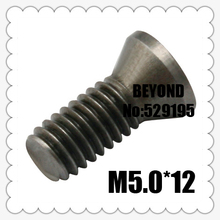 50pcs M5.0*12mm Insert Torx Screw for Replaces Carbide Inserts CNC Lathe Tool