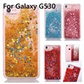 Lowest Price G530 Cases Glitter Star Dynamic Liquid Quicksand Transparent Hard Phone Cover For Samsung Galaxy