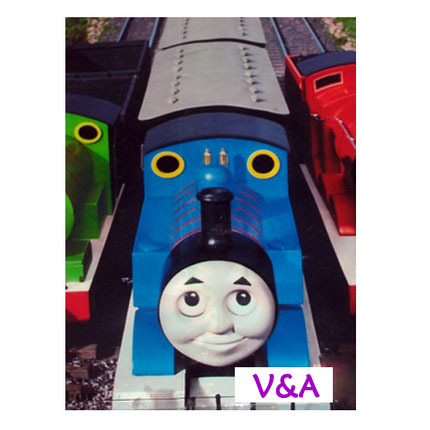 6pcs free shipment CARTOON Thomas train Party Birthday Colors Favours party decorations gift bag(China (Mainland))