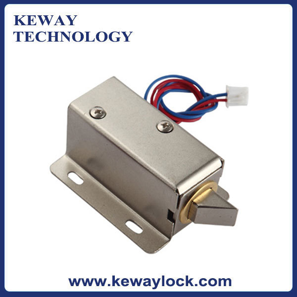 Mini electronic cabinet lock 12v electronic latch lock for for 12v door latch