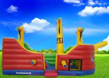 pirate boat, inflatable sport toys, factory price,fast delivery, nice amusement park