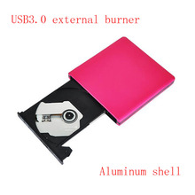 Buy Free External dvd burner USB3.0 mobile external desktop notebook drive aluminum alloy Hard disk swap red for $21.84 in AliExpress store