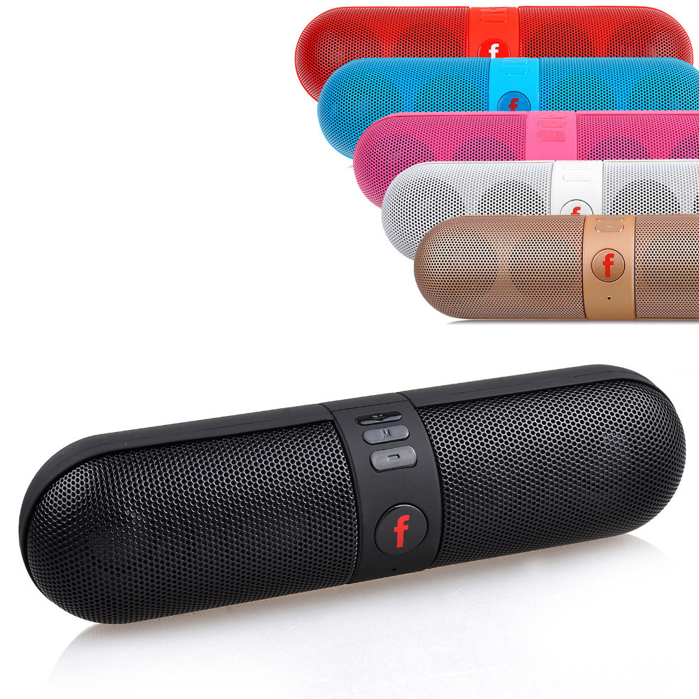 Portable Shockproof Bluetooth Wireless FM Stereo Speaker For SmartPhone Tablet(China (Mainland))
