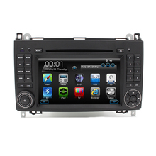 Free Shipping Two Din 7 inch Car DVD Player GPS For Mercedes/Benz/Sprinter/W209/W169Viano/Vito/B200/A160 WiFi 3G Parking Radio