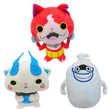30cm New Anime Cartoon Yo-Kai Watch Plush Toys Whisper Jibanyan Komasan Cat Kawaii Soft Stuffed Dolls for Kids Toys Gift