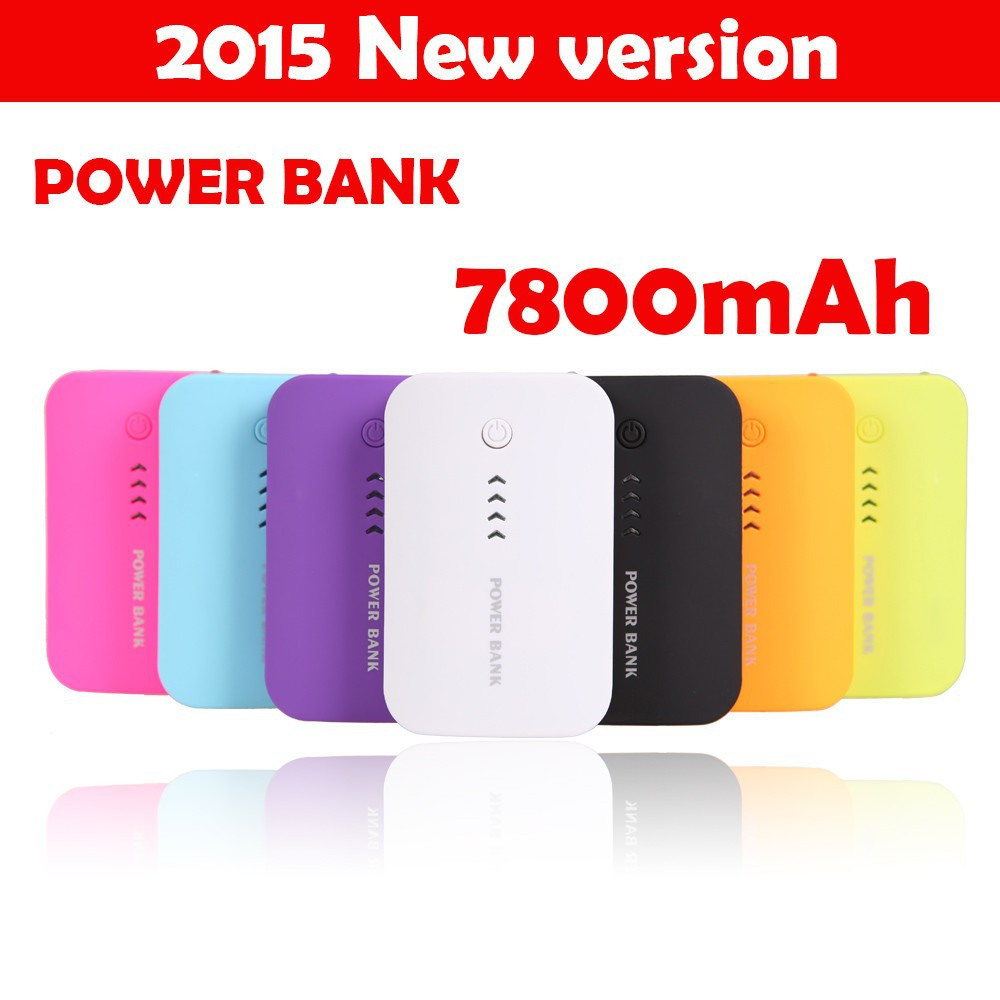 Power Bank 5600mAh USB External Mobile Backup Powerbank Battery for iPhone iPod iPad mobile Phone Universal Charger