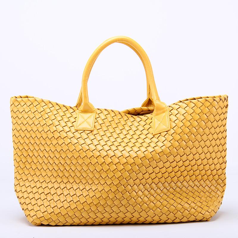 12 colors~2013 New Leather Women fashion Weaving handbag \ bag ,fashion shoulder bag~Star models~13B123<br><br>Aliexpress