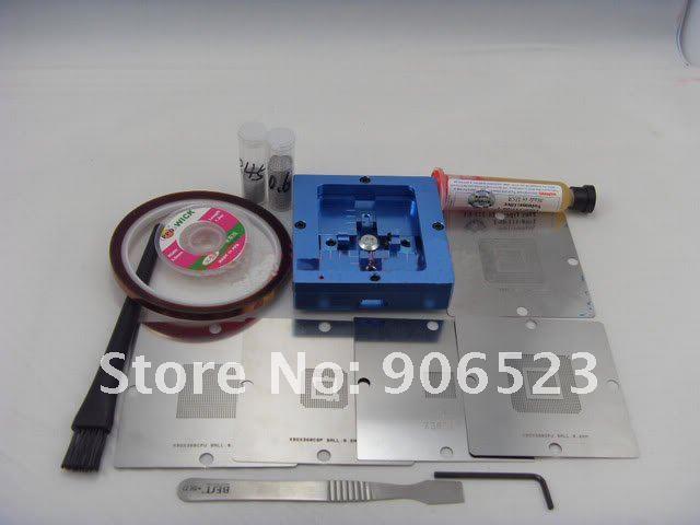 free shipping reballing kit for XBOX 360 CPU GPU BGA reball rework tools kit(China (Mainland))