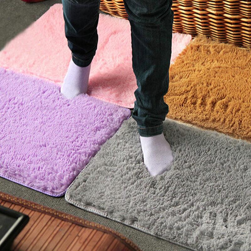 High quality bath mat bathroom carpet rug set bathmate 60*40 cm 6 colors Factory outlet Free shipping(China (Mainland))