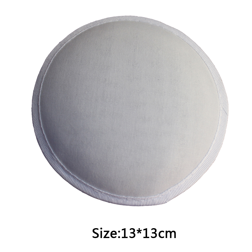 13cm White Millinery Form Round Buckram Base Fascinator Base For Women 20pcs/lot(China (Mainland))