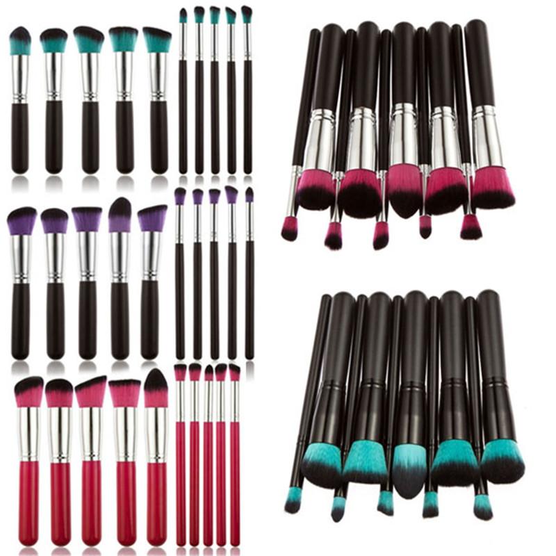 New Brand Beauty Makeup Sets Makeup tools Pro Kits Brushes Kabuki Makeup Cosmetics Brush Tool free