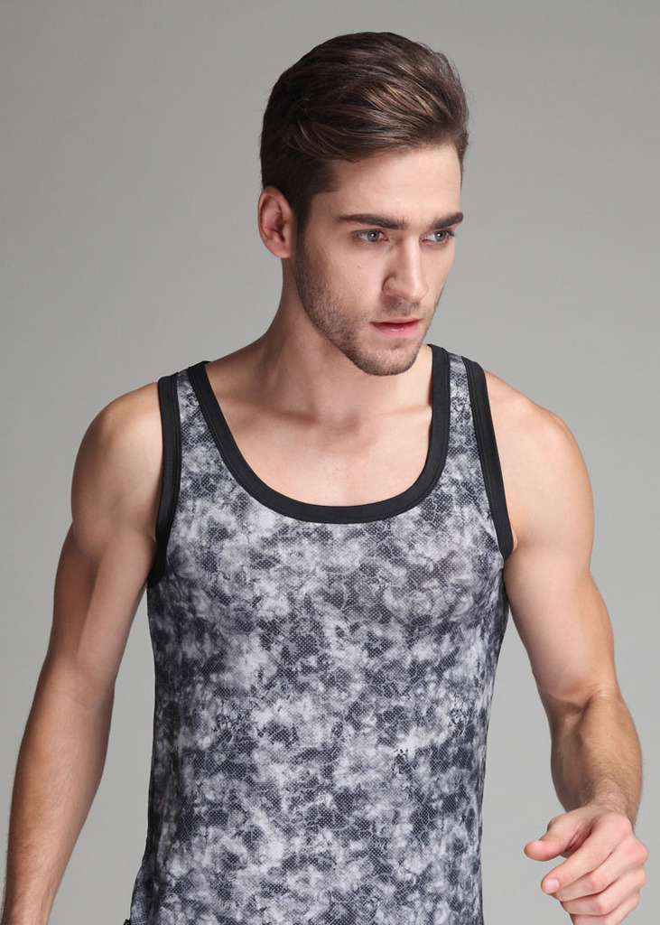 men tank top gym clothing bodybuilding fitness cotton sleeveless muscle T shirt brand 2014 new fashion - HappyMei store