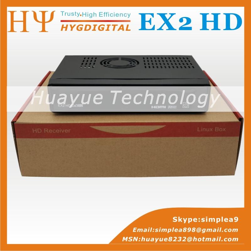 Genuine HEROBOX EX HD DVB-S2 Satellite Receiver HD Linux Enigma2 S BCM7362 Dual processor 512MB DDR3 Free Shipping(China (Mainland))