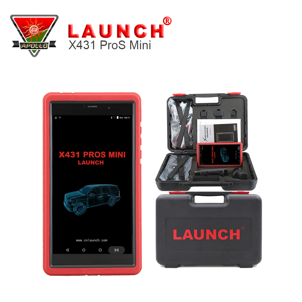 New Released Auto Diagnosis Tool Launch X431 Pros mini With 6.8'' Tablet PC Support WiFi/Bluetooth Full Systems Mini X431 Pro(China (Mainland))