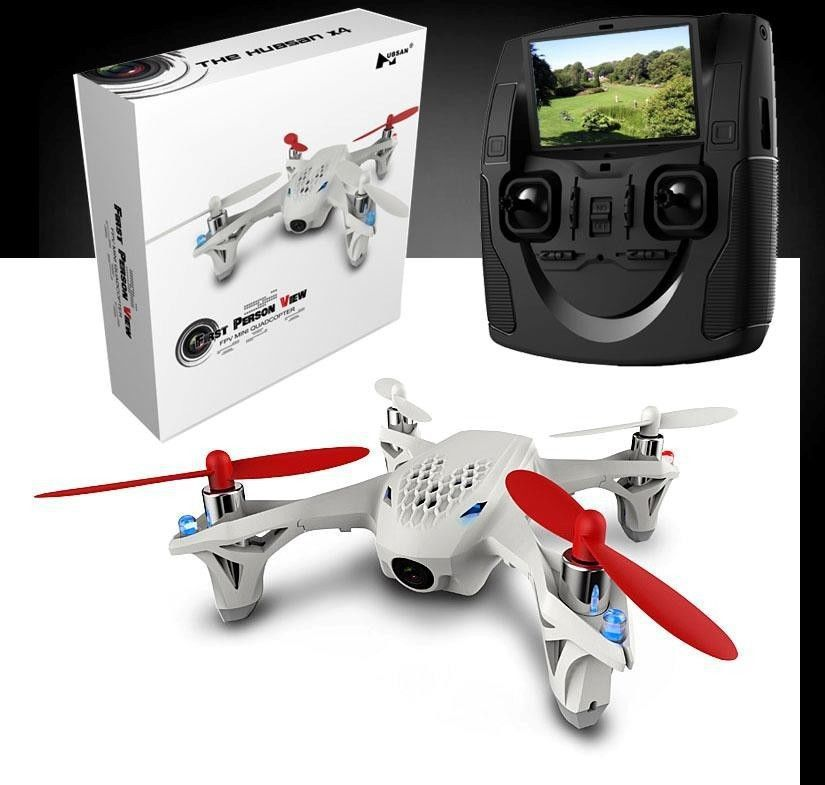 """Free shipping! Hubsan H107D X4 FPV RC airplane drone 4CH Quadcopter 2.4G RTF W/ Camera 4.3"""" Transmitter 6 Axis(China (Mainland))"""