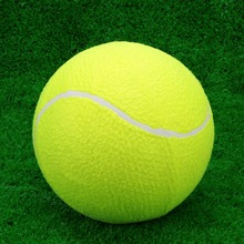 "9.5"" Tennis Ball Oversize Giant Ball for Children Adult Pet Fun Outdoor Training Game Playing Ball Equipment Tennis Accessory(China (Mainland))"