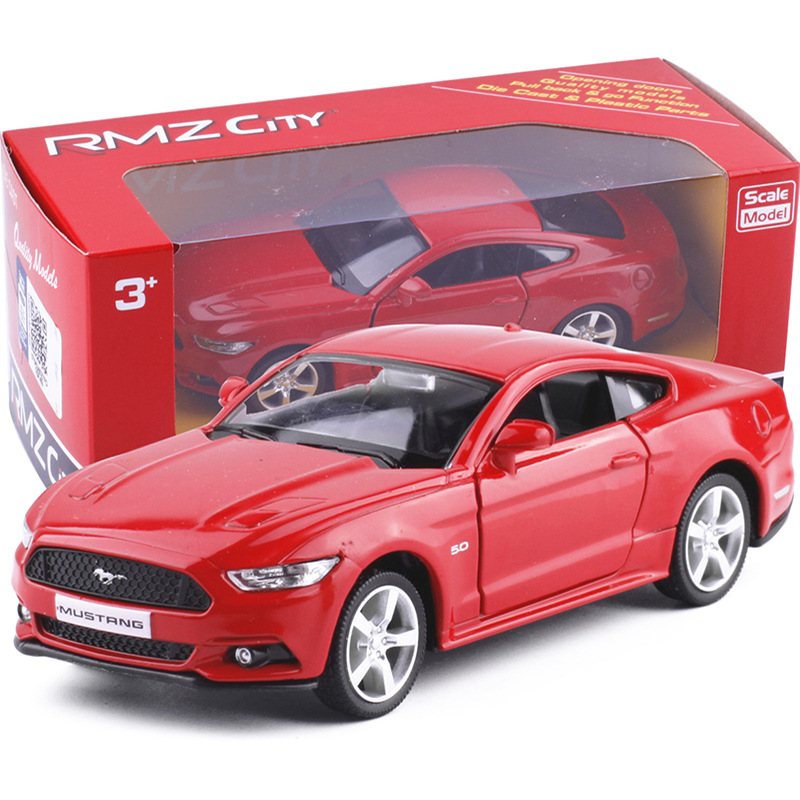 High simulation supercar,1:36 scale alloy pull back Ford Mustang GT cars,Collection metal model toys,free shipping(China (Mainland))