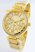 Relogio Masculino Top Luxury Brand Michaelling Reloj de cuarzo Mujer hombre deportes del Reloj dorado señora del vestido de ginebra relojes Reloj de Mujer 75