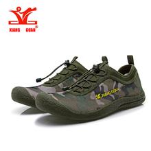 XiangGuan quality men and women hiking shoes lovers fashion casual camo breathable walking shoes outdoor aqua shoes size 36-44