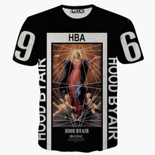2015 summer hip hop fashion tshirt men/women 3d hba/wiz khalifa/simpson print t shirt brand crossfit camisetas masculinas hombre