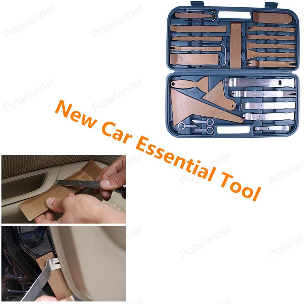 Новый лучшие продажи комплект инструментов автомобиля средство для удаления панели 36 шт./компл.