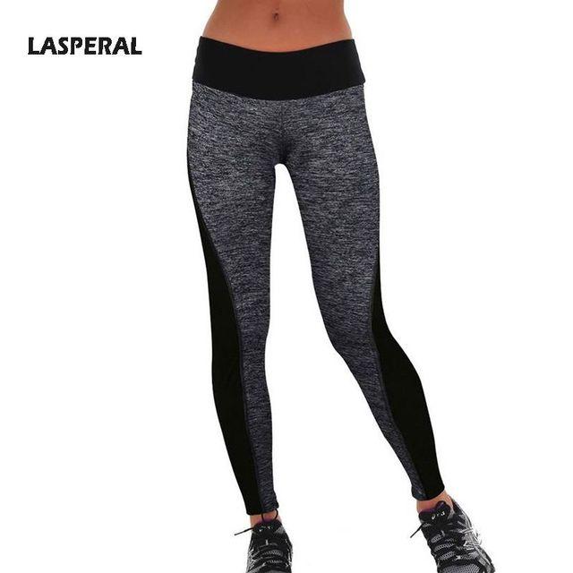 Women's Fitness Leggings Women Two-Sided High Waist Elastic Fitness Leggings Workout Clothes Women Leggings Pants 2016 LASPERAL