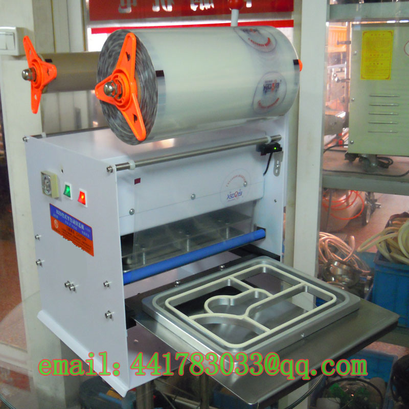 FKJ-HSemi - automatic capping machineautomatic cup sealer sealing machine Fish trays TINKA MACHINERY HOUSE store