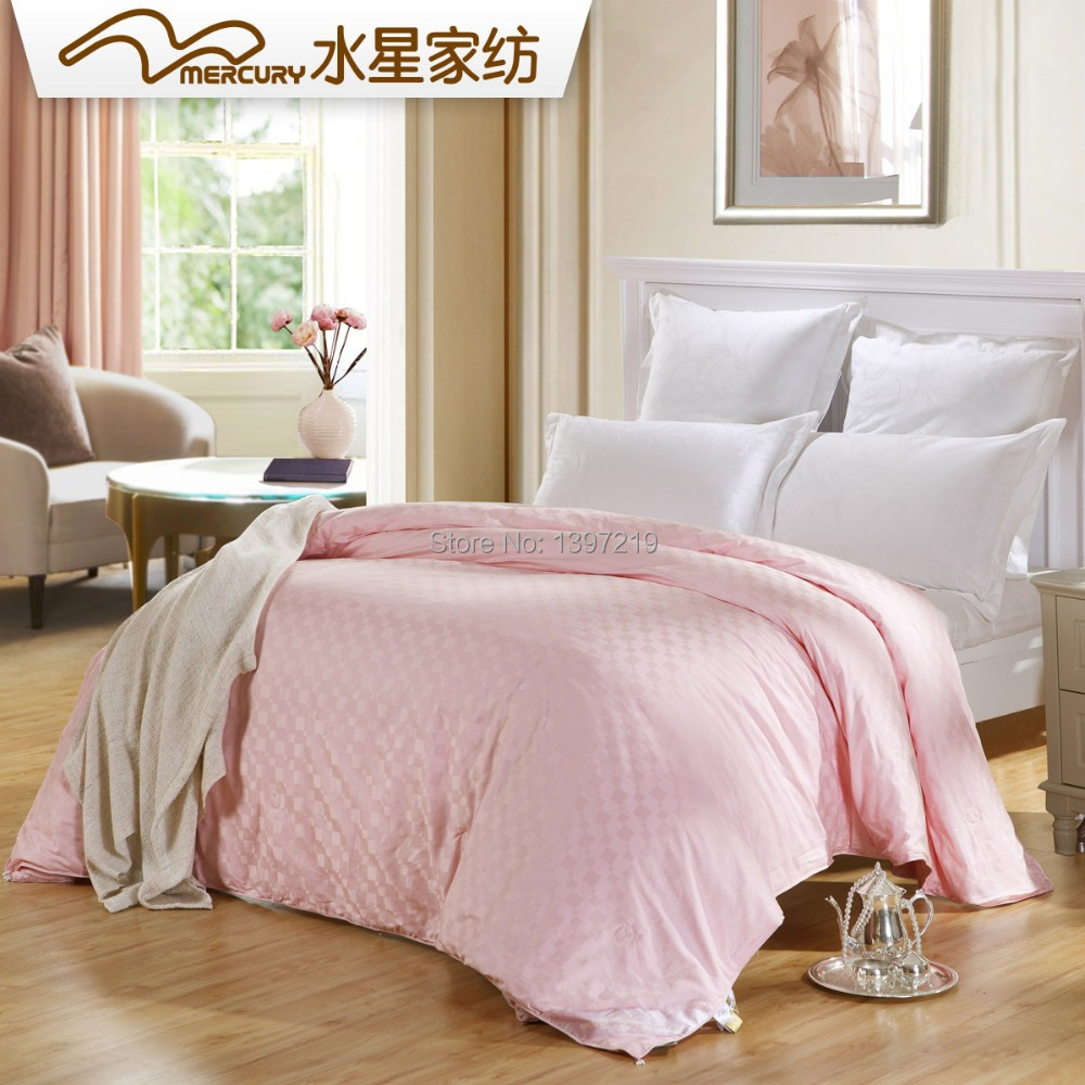 Free Shipping! Mercury home textile King Size 220*240 cm Silk & Soft Fiber Two in One Comforter. Hot Sale!(China (Mainland))