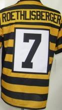 7 Ben Roethlisberger 26 Le'Veon Bell 83 Heath Miller 43 Troy Polamalu 50 Ryan Shazier 84 Antonio Brown Elite Jerseys(China (Mainland))