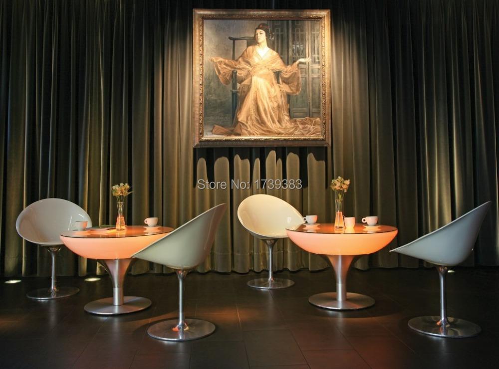 H110 Led Coffee Table-emitting,Lounge LED,A Uniquely Designed Table Led Illuminated Furniture rechargeable for Bars/Christmas(China (Mainland))