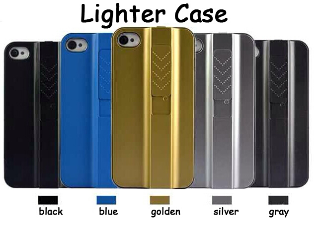 New Arrival USB Cigarette Lighter Hard Case Cover For Samsung Galaxy S4 I9500 With Retail Package Plating Polishing (ZS0415)(China (Mainland))