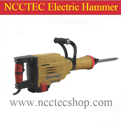 destructor Electric pick breaker hammer   concrete Demolition hammer for breaking and Dismantle floor road wall   3500w 60J(China (Mainland))