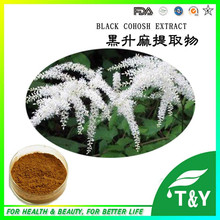high quality 20:1 triterpene glycosides black cohosh extract(China (Mainland))