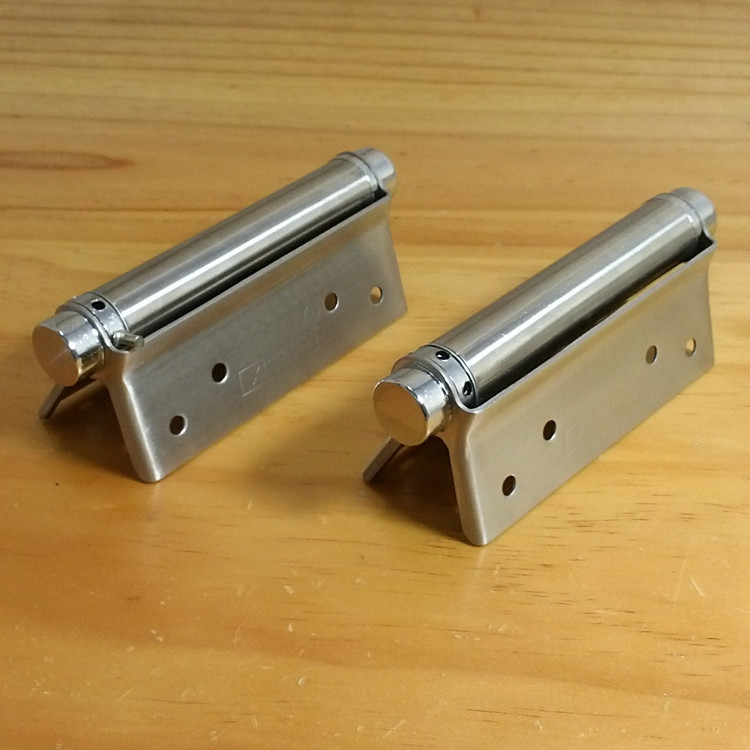 5 -inch single-sided stainless steel spring hinge door hinge freely unidirectional hinge spring hinge door closers(China (Mainland))