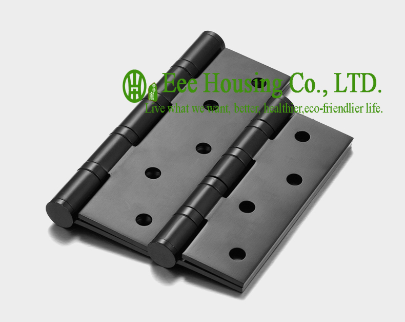 5 inches widen ball bearing black door hinges,5 inches black door hinge,Low noise Hinge,Stainless Steel Hinges for thicker doors(China (Mainland))