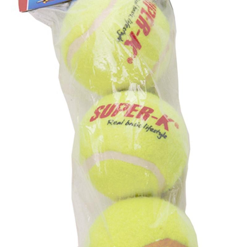 3 Pcs High Quality Tranning Balls Practice High Resilience Tennis Ball Pets Tranning Balls bolas de tenis TEB4379(China (Mainland))