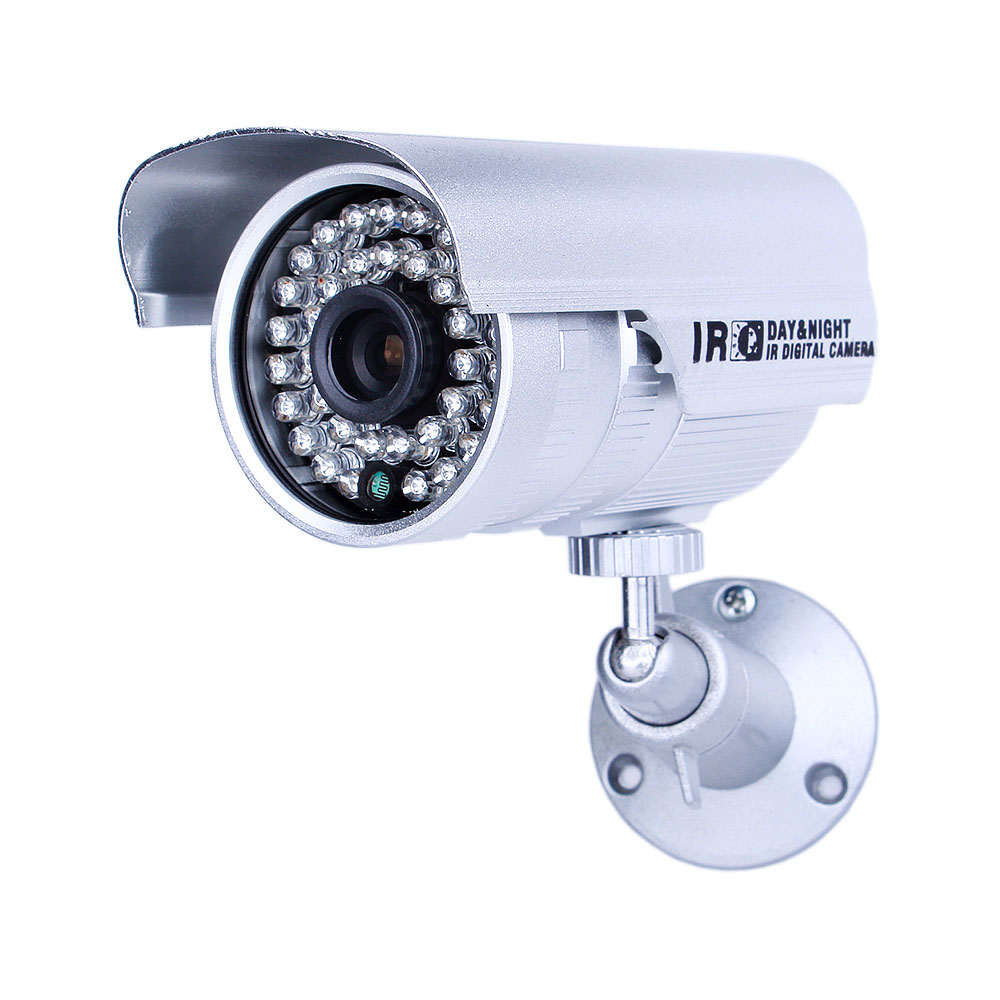 Гаджет  H.264 CCTV Camera 1200TVL Outdoor HD Waterproof IR Night Vision OSD Menu Home Video Surveillance Security Camera Free Bracket None Безопасность и защита