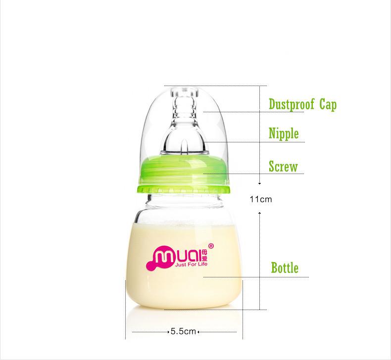 Feed Water to Newborn Feeding Bottle Newborn