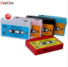 Buy SZAICHGSI new Mini Cassette Tape Shape MP3 Music Player, Support micro SD, TF Card wholesale 500pcs for $646.94 in AliExpress store